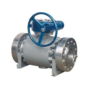 3 PC TRUNNION MOUNTED BALL VALVE
