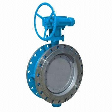 Stainless Steel Butterfly Valve, Flange End, Resilient Seated, Gear Wheel, DN50-2000, PN0.6-4