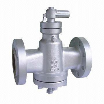 Inverted Pressure Balance Lubricated Plug Valve, Made of Carbon Steel