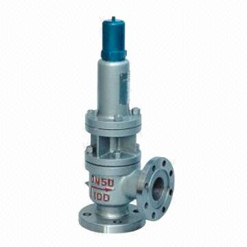 Spring closed type safety valve
