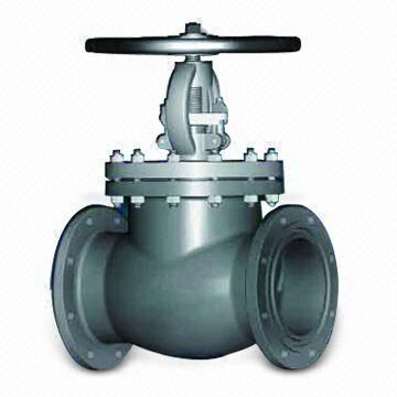 Cast Steel Globe Valve, Available with Gear Operator
