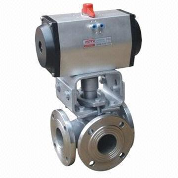 Pneumatic Plug Valve, Class 150 to 900lb Nominal Pressure, -29 to 550°C Working Temperature