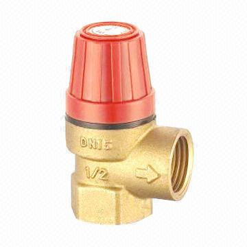 Safety Valve with Nickel Plated Surface, Made of Brass
