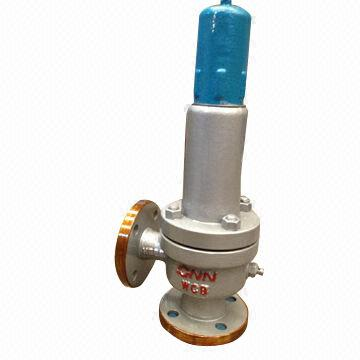 Safety valve for gas and liquid