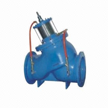 JD745X Multi-functional Water Pump Control Valve, Piston Type