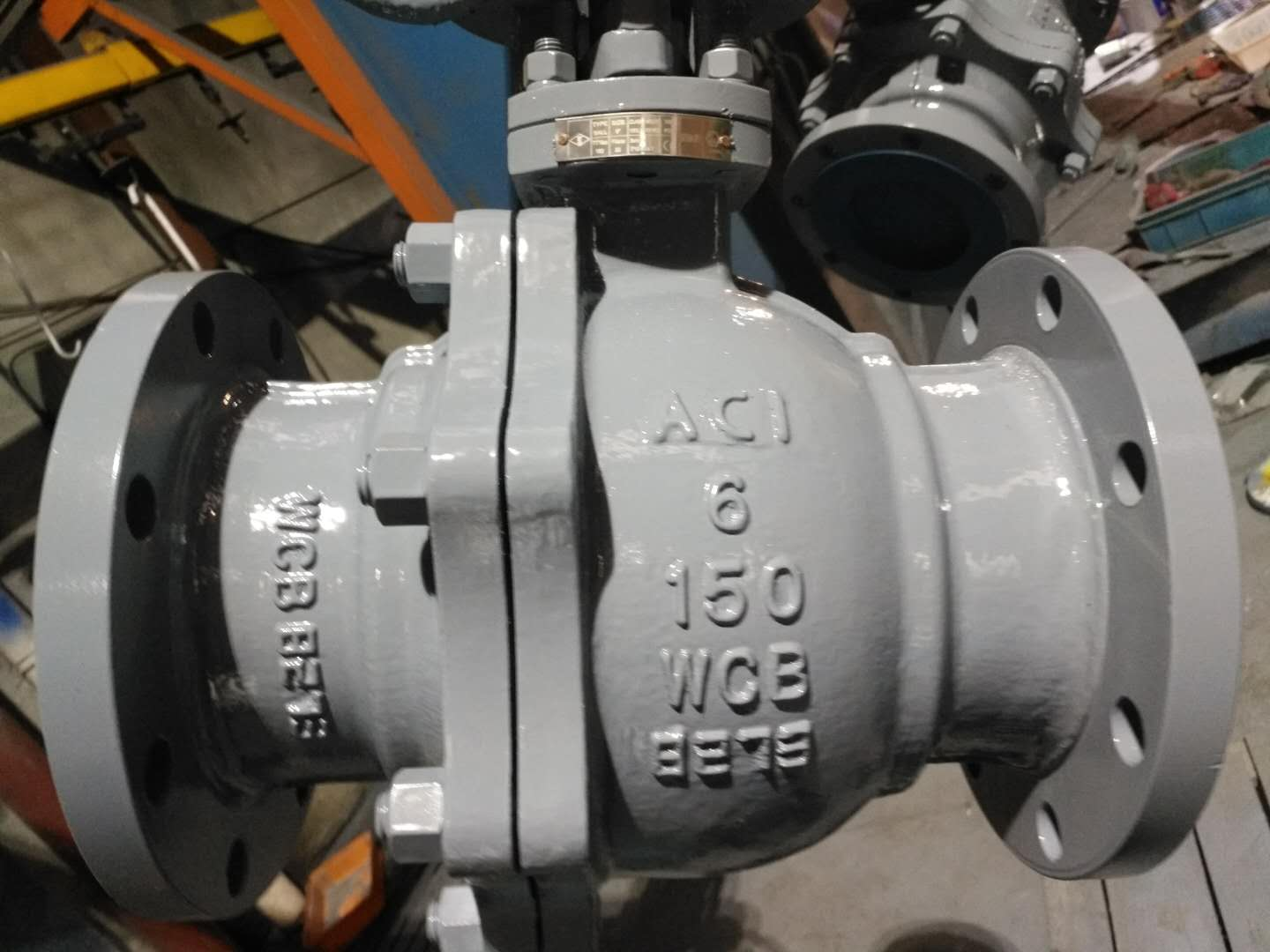 Flange Trunnion-mounted Ball Valve, API6D and CE Certifications